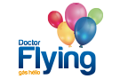 logo doctor flying
